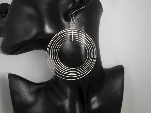 Layer multi Hoop Earrings